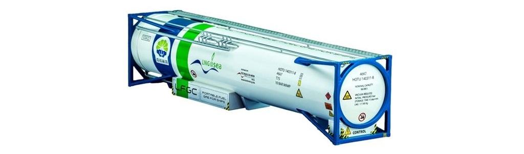 The LFGC (Liquid Fuel Gas Container) creates the breakthrough!
