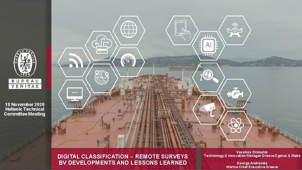 Bureau Veritas hosts first virtual Hellenic Marine Technical Committee.