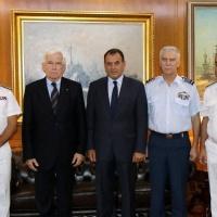 Δωρεά Πλοίου Γενικής Υποστήριξης από τον Πάνο Λασκαρίδη στο Πολεμικό Ναυτικό